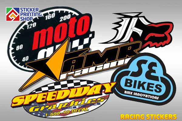 Moreover when you go with custom racing stickers you do not have to use logos or texts only since the choice is all yours you can create your favorite
