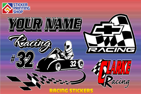 racing stickers