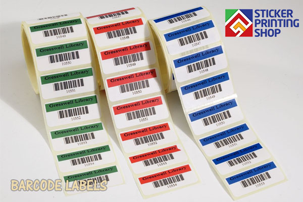Barcode Labels 3