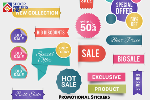 Buy rite banners promotional stickers the advantages of promotional and event stickers