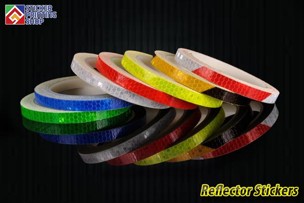 Custom Reflector Stickers