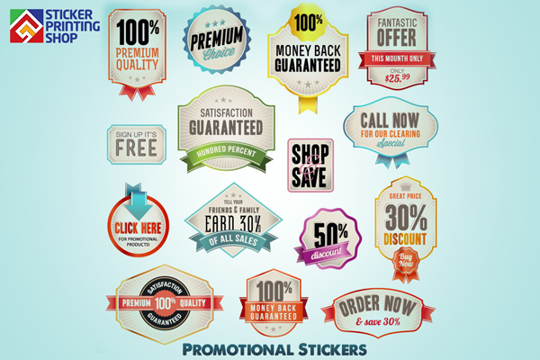 Promotional stickers the advantages of promotional and event stickers