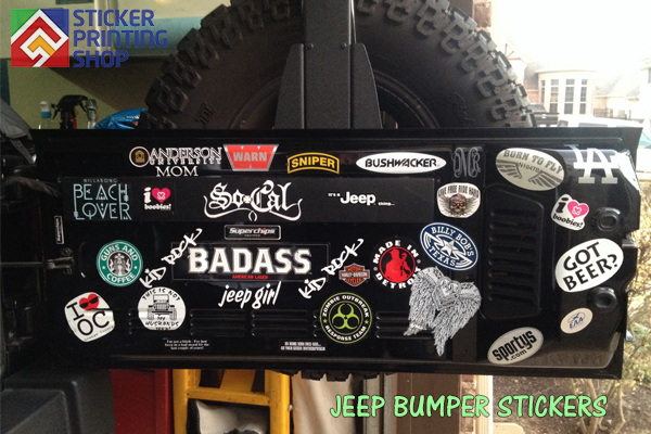 jeep bumper stickers 2