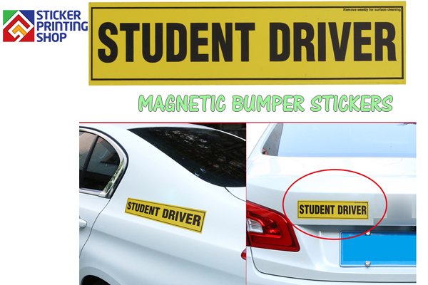Magnetic Bumper Stickers 2