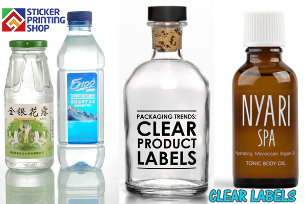 photo about Clear Printable Labels for Glass named Get Ceremony Banners - Obvious Labels A Matchless Enchantment towards Your