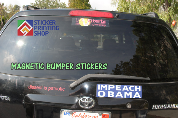 Magnetic Bumper Stickers 3