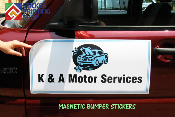 Make A Magnetic Bumper Sticker
