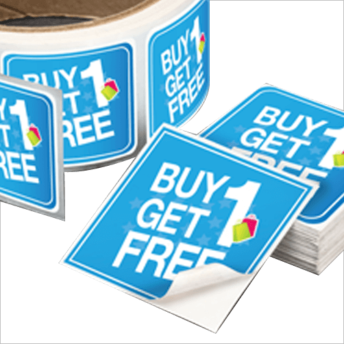 Promotional stickers for business