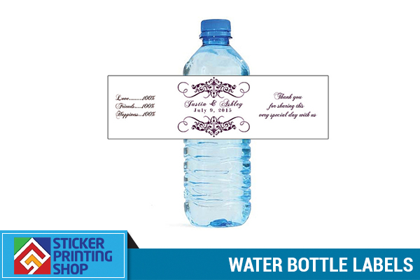 Personalized Water Bottle Labels Archives Sticker Printing Shop